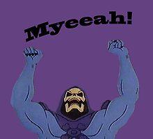 All Hail Skeletor by stumpyshirts
