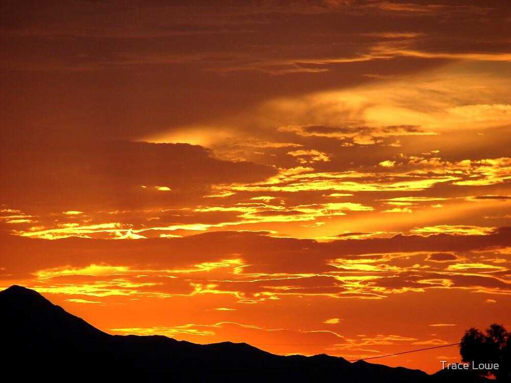 Arizona Sunset 5 by Trace Lowe