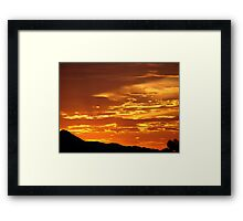 Arizona Sunset 5 Framed Print