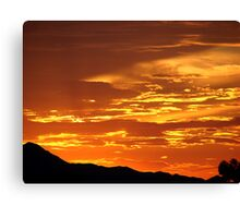 Arizona Sunset 5 Canvas Print