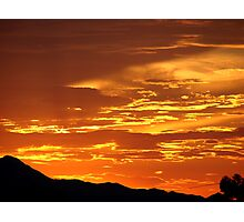 Arizona Sunset 5 Photographic Print