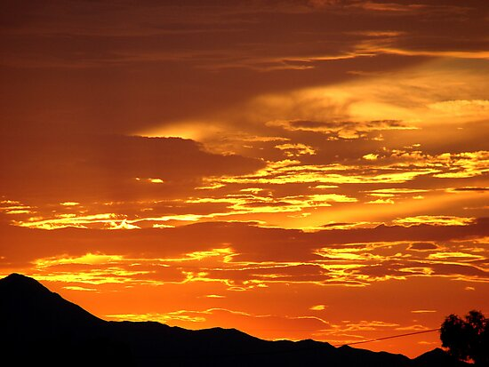 Arizona Sunset 5 by Trace Lowe