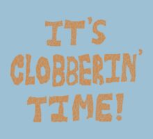 It's Clobberin' Time! Kids Tee