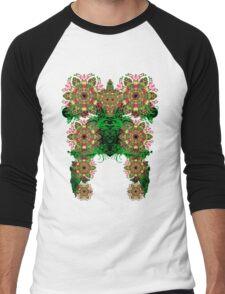 psytowers Men's Baseball ¾ T-Shirt