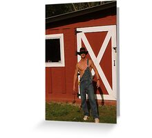 Let Me Be Your Fix-it up Man Greeting Card