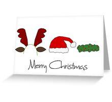 Seasonal Headwear Greeting Card