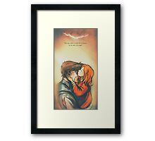 I'll Soon Be a Story in Your Head - Doctor Who Framed Print