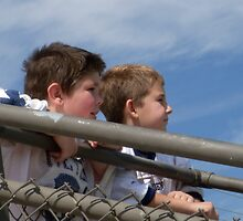 Young Spectators by candid
