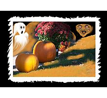 Ghostly Fears Hallowed Eve Photographic Print