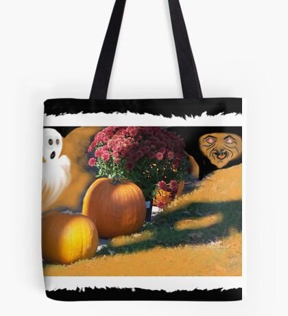 Ghostly Fears Hallowed Eve Tote Bag