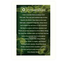 Breaking Bad - Ozymandias Poem Art Print