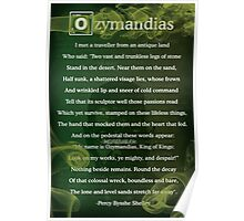 Breaking Bad - Ozymandias Poem Poster