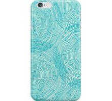Turquoise spirals  iPhone Case/Skin