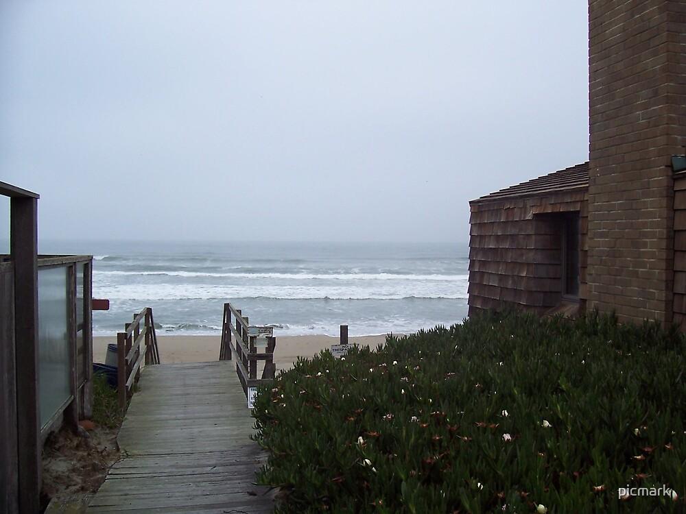 ocean view walkway by picmark