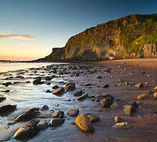 Saltwick Bay by Marc Bedingfield