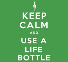 Keep Calm and Use A Life Bottle One Piece - Short Sleeve