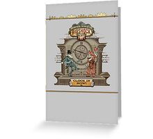 Clock in Now Greeting Card