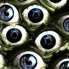 Green Eyed Monster Mug by Matt West