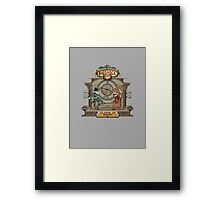 Infinite (frameless) Clock in Now Framed Print