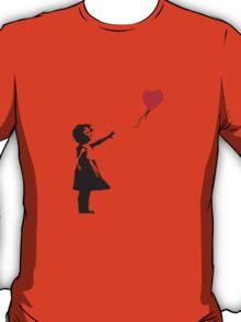Banksy - balloon girl T-Shirt