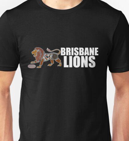 Indigenous Lion - Brisbane White Unisex T-Shirt