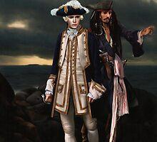 Norrington and Sparrow by Gorgidas