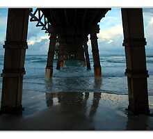 Daytona Beach , Fl Under the Pier by Erin Bisanti