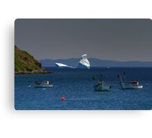 Frozen Giants from the North Canvas Print