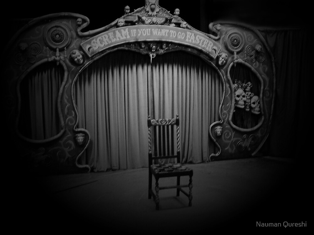 Puppet Theatre by Nauman Qureshi