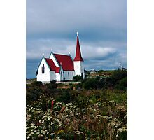 Village Church Photographic Print