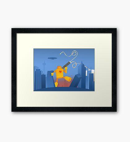 Love and Destruction Framed Print