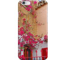 Pink Shutters With Bougainvillea............................Majorca iPhone Case/Skin