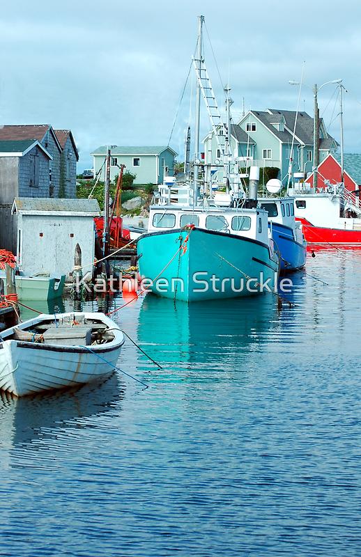 Boating Village by Kathleen Struckle