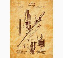 1884 Fishing Tackle Patent Art Unisex T-Shirt