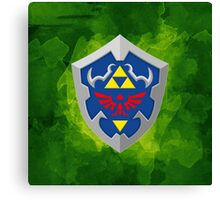 Hylain Shield OoT Canvas Print