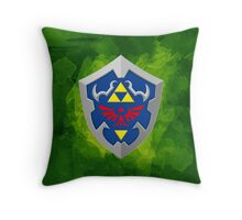 Hylain Shield OoT Throw Pillow