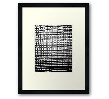 Shower Screen Framed Print