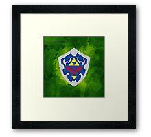 Hylain Shield OoT 2 Framed Print