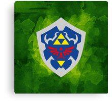 Hylain Shield OoT 2 Canvas Print