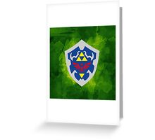 Hylain Shield OoT 2 Greeting Card