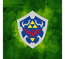 Hylain Shield OoT 2 Photographic Print