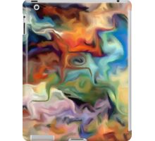 abstract, geometric, expressionist, color, colorful iPad Case/Skin
