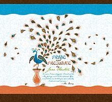 Paisley Peacock Pride and Prejudice: Modern by DoodleHeadDee