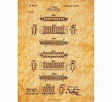 Hohner Harmonica 1900 Patent Art T-Shirt