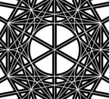 Metatron's Cube Sticker