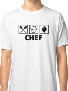 Chef cook hat equipment Classic T-Shirt