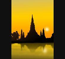 Wat Arun - Temple of Dawn Unisex T-Shirt