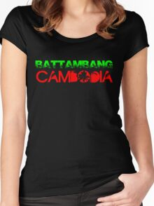 Battambang Women's Fitted Scoop T-Shirt