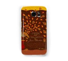 Paisley Peacock Pride and Prejudice: Fall Samsung Galaxy Case/Skin