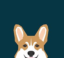Teagan - Corgi Welsh Corgi gift phone case design for pet lovers and dog people by PetFriendly